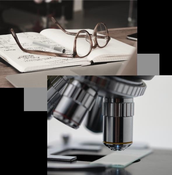 Glasses / Microscope